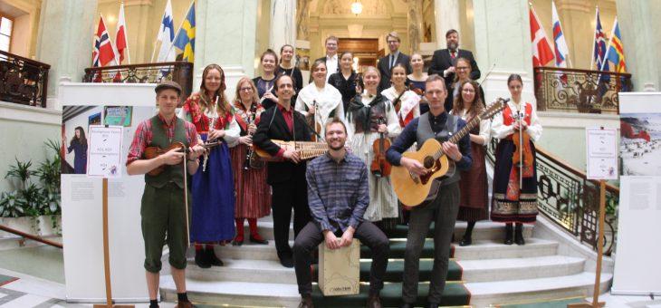 Spelning i riksdagen för nordiska rådet